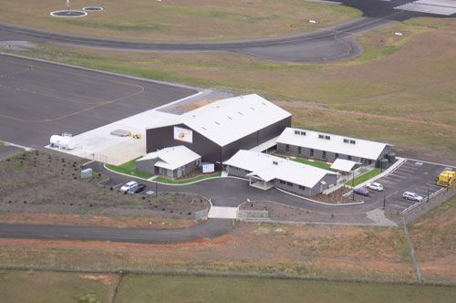 Tamworth Westpac Rescue Helicopter facility designed by Tamworth Commercial Architect Bonnar Smith Hamilton